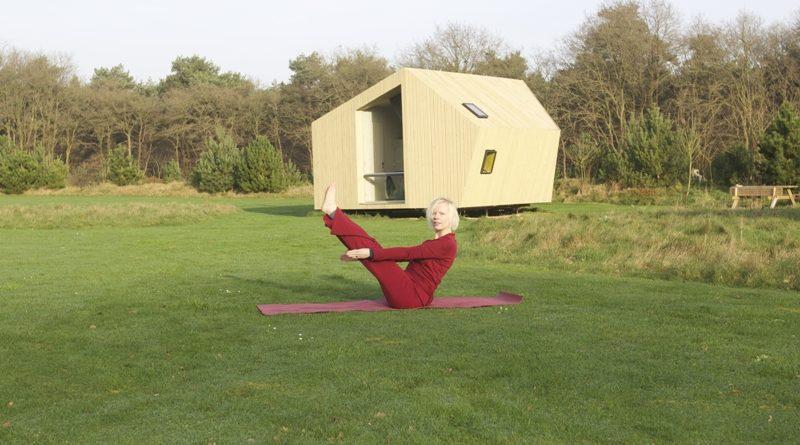 yoga op natuurcamping