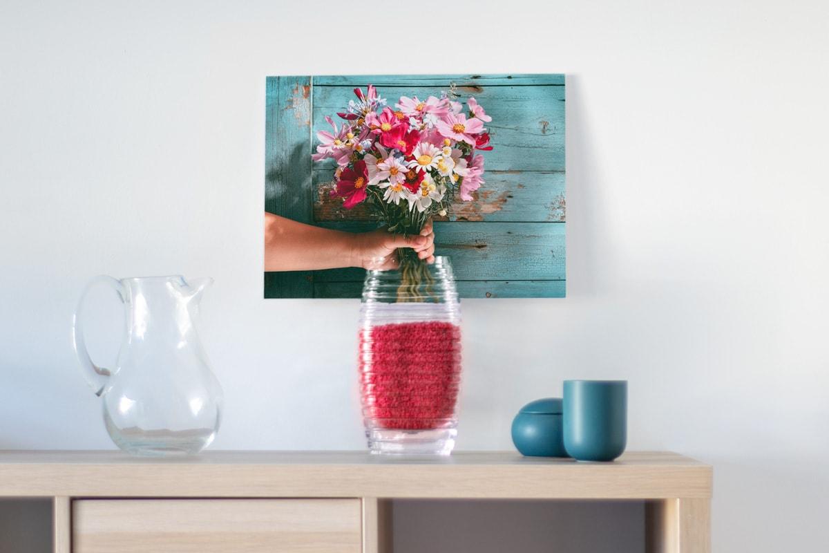Woonruimte-decoreren-fotoproducten-mix-kunst-meubelen