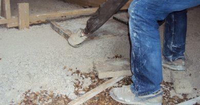 Schelpen en kalkhennep zorgen voor dampopen vloeropbouw