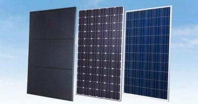 Welke soorten zonnepanelen bestaan er?