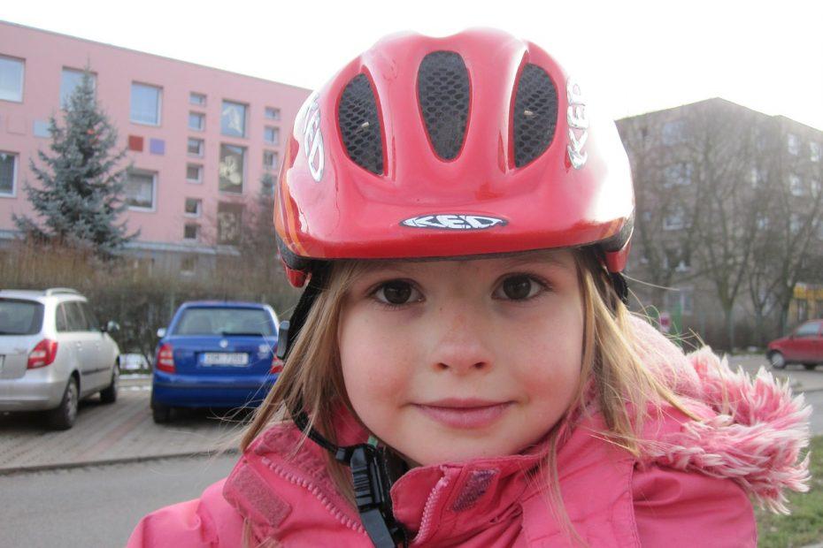 kind warm en droog op de fiets