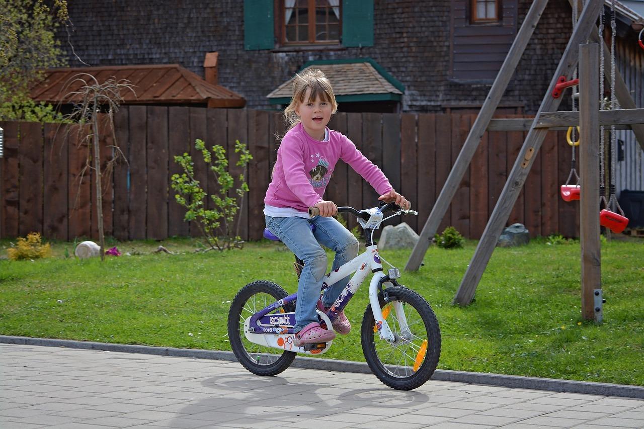 Kinderfiets om te leren fietsen